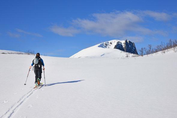 Das Husfjellet bietet eine nette kleine Halbtagstour mit perfekter Aussicht!