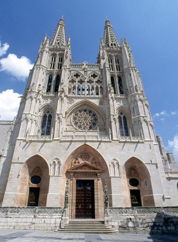 Die Kathedrale von Burgos - ein UNESCO-Weltkulturerbe.
