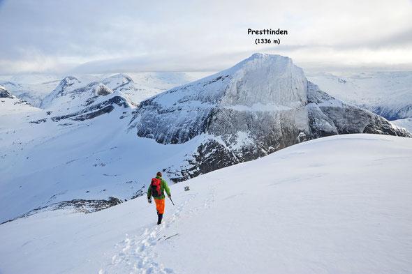Eine traumhafte Skitourenecke: die Berge rund um den Tysfjord!