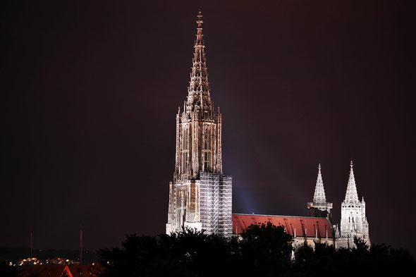 Immer wieder schön - der Blick auf's Münster!