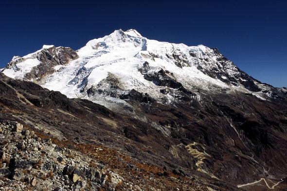 Huayna Potosi (6088 m) - Bolivien
