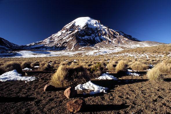 Nevado Sajama (6542 m) - Bolivien