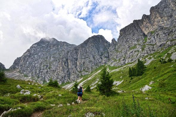 Ein Klassiker in den Allgäuer Alpen - der Gimpel!
