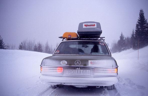 Schnee ohne Ende & eiskalt!