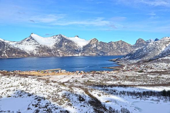 Mefjordvær und seine großartige Kulisse!