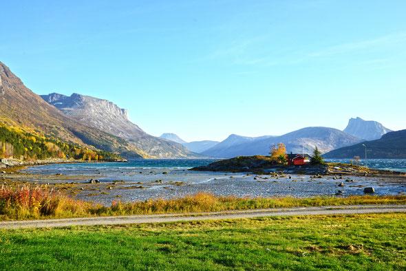 Unterwegs durch das Skjomdalen - der norwegische Herbst wie aus dem Bilderbuch!