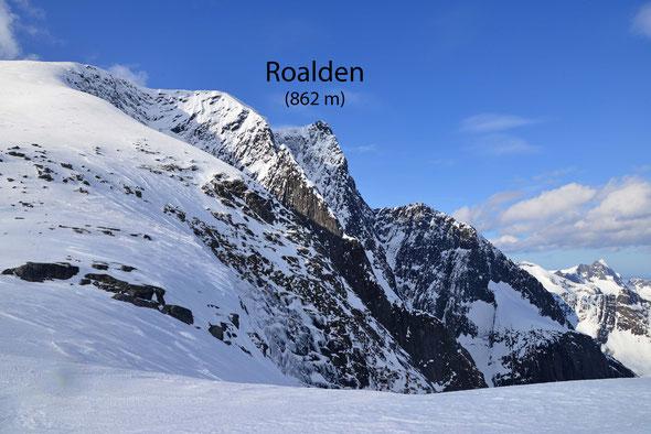 Eine imposante Erscheinung: der Roalden-Hauptgipfel!