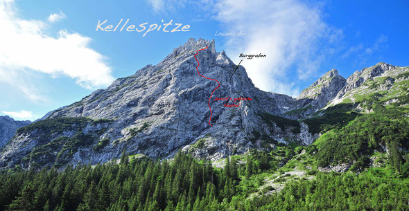 Kellespitze-Nordwand