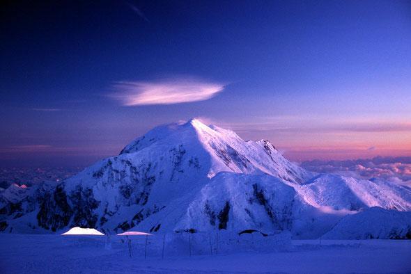 Traum und Langzeitprojekt - der Mt. Foraker/Alaska.