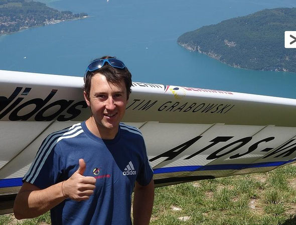 Tim am Lac d'Annecy