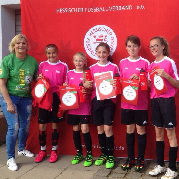 (Foto HFV) Sieger Fair Play Turnier - Powergirls