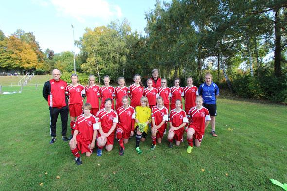 U14 Nordhessenmeister wurde das Team der Region Gießen/Marburg
