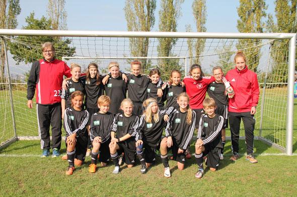 U12 Nordhessenmeister  wurde das Team der Region Gießen/Marburg