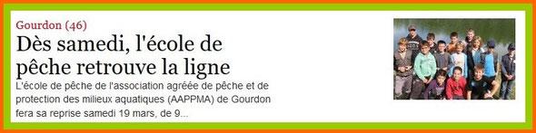 La Dépêche du Midi du 16/03/2016