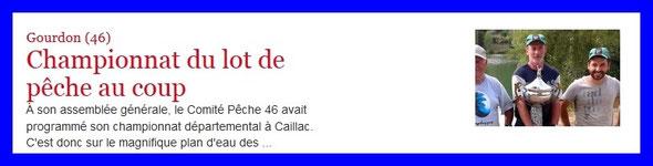 La Dépëche du Midi du 13/07/2015