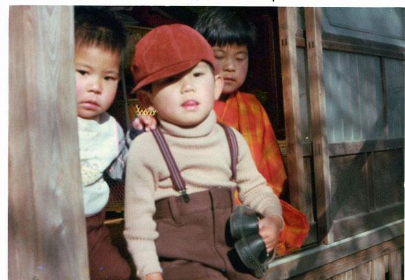 小さい頃の兄弟の写真