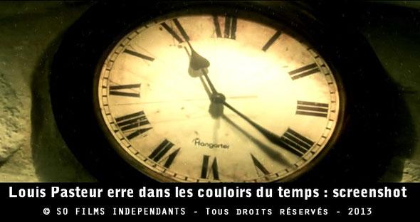 L'horloge du temps de Louis Pasteur...