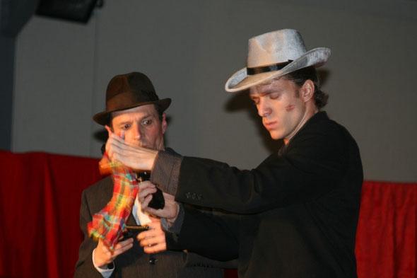 """Photo de la pièce """"Le Cabaret de la Rose Rouge"""", prise à Brax, le samedi 09 avril 2011"""