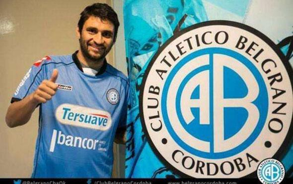 Carlos Bueno volvió a marcar para Belgrano.