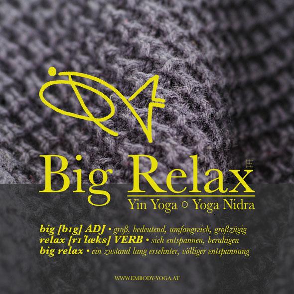 Big Relax: Yin Yoga & Yoga Nidra zu den 5 Elementen der TCM