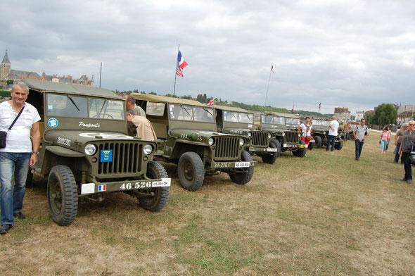 Exposition de Jeep willy's