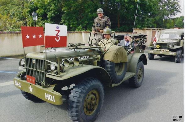 Dodge WC 56 Comand Car Personnalisé pour le Général. G.S PATTON