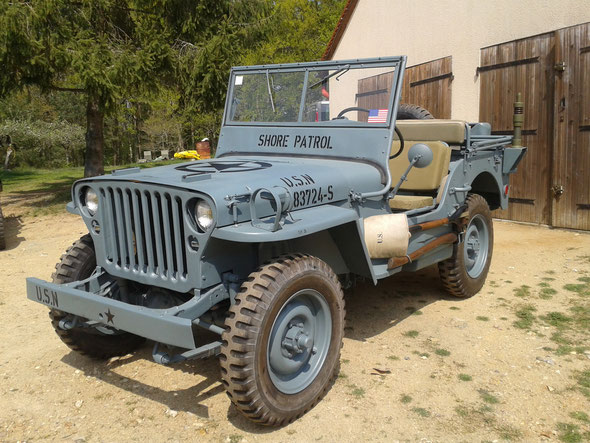 Jeep US Navy - Patrouille du rivage