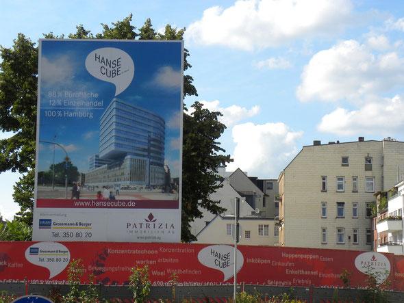 Bauschild steht seit 2009 | © greenIMMO