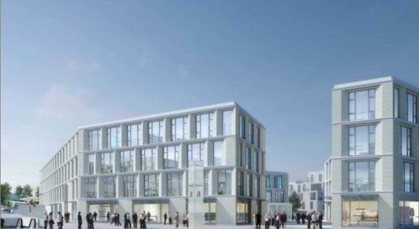 Ansicht des neuen Stadtteilzentrums | Bild: FürstDevelopments