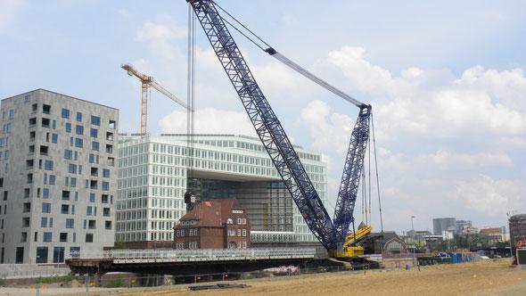 Lebenszykuskosten bei der Planung im Blick: Neues Spiegelgebäude, Hamburg | © greenIMMO