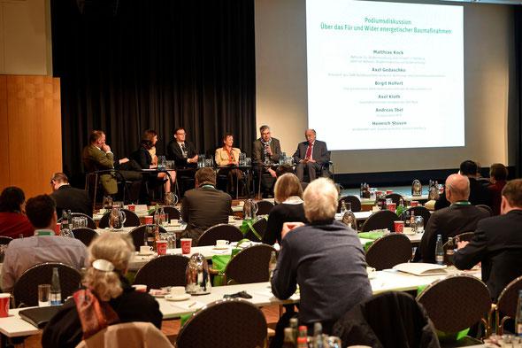 Podiumsdiskussion: Aus Berlin kommen derzeit die falschen Signale | Bild: Hamburger Energietage