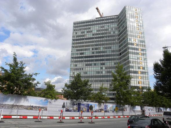 EMPORIO Hamburg, vorzertifiziert mit dem Gebäudesiegel der DGNB und mit dem Label des USGBC (LEED) | © greenIMMO