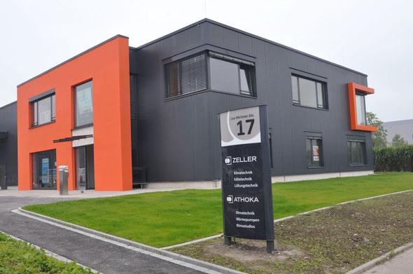 Neue Firmenzentrale der Athoka GmbH mit Null-Energie-Ansatz in Herten | Bildnachweis: Athoka GmbH
