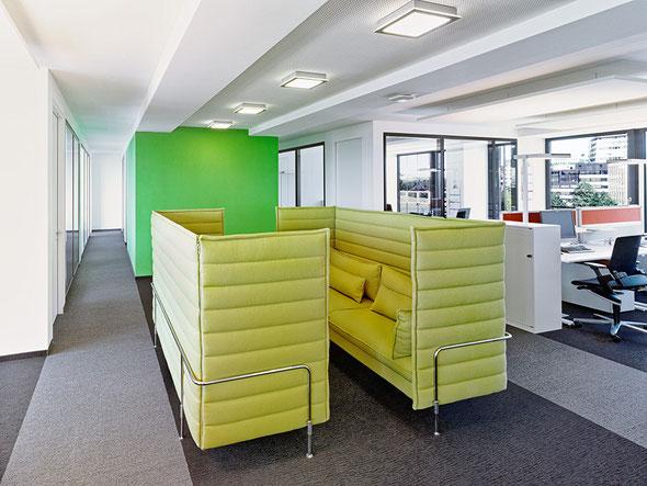 Lounge-Atmosphäre für motiviertes Lernen und Arbeiten | © Roman Wagner