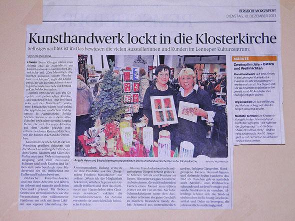 Angela Heise Birgitt Niermann Kunsthandwerkermarkt