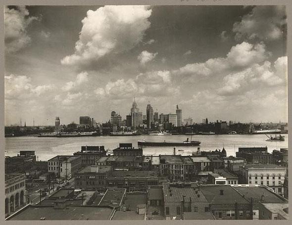 Detroit Skyline 1929