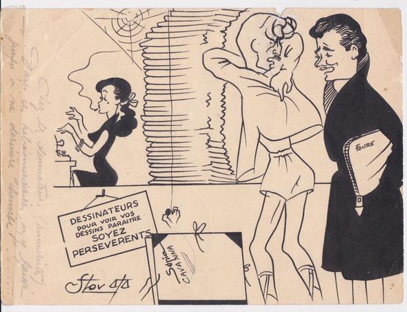 Chez les dessinateurs (humoristes) : Dans ces hebdomadaires, on y laisse jusqu'à sa dernière chemise... (Avec Cavanna)