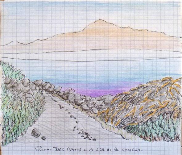 Le Teide vu de La Gomera by Raph - cliquez !