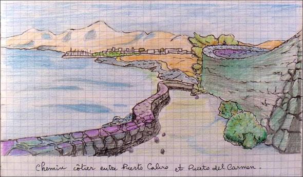 entre Puerto Calero et Puerto del Carmen by Raph - cliquez !