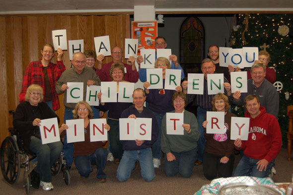 Children's Ministry Volunteer Party