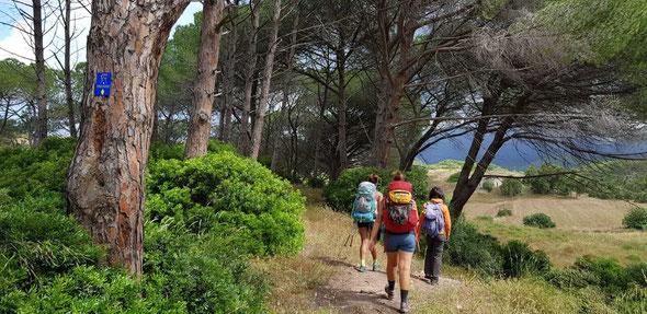 """Pellegrine attraverso il """"Cammino Minerario di Santa Barbara"""""""