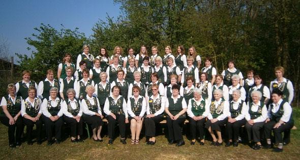 Damenabteilung zum 40jährigen Jubiläum