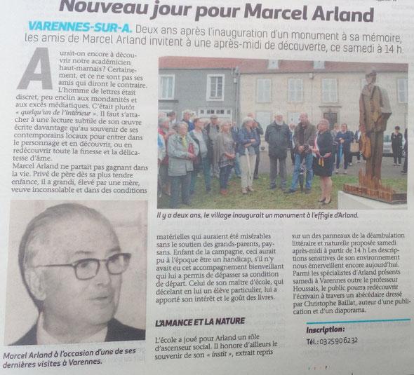 Voix de la Haute-Marne 7 septembre 2018 - Varennes-sur-Amance (arrdt Langres)