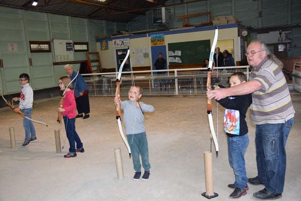 L'école municipale de tir à l'arc