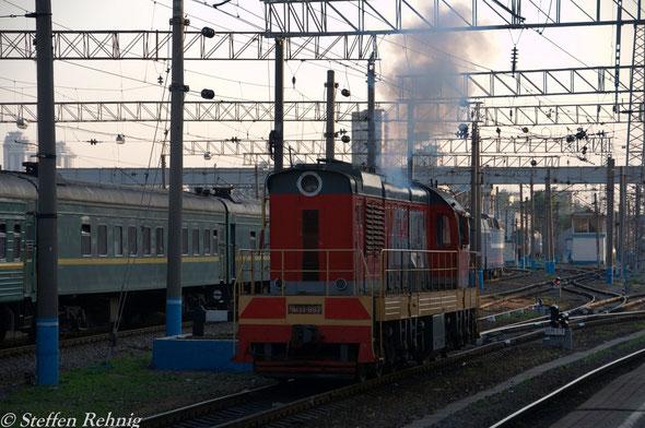 TschM 33-897 in Moskva Kiewer Bahnhof / Киевский вокзал (21. Mai 2012)