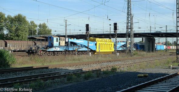 Trafotransporteinheit der Firma Felbermayr in Bamberg (29.9. 2014)