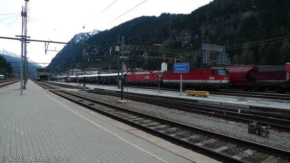 Abfahrt nach Innsbruck ....