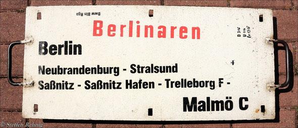 """DR - D 316/317 """"BERLINAREN"""""""