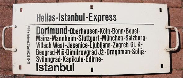 """DB - D 410/411 """"HELLAS-ISTANBUL EXPRESS"""""""