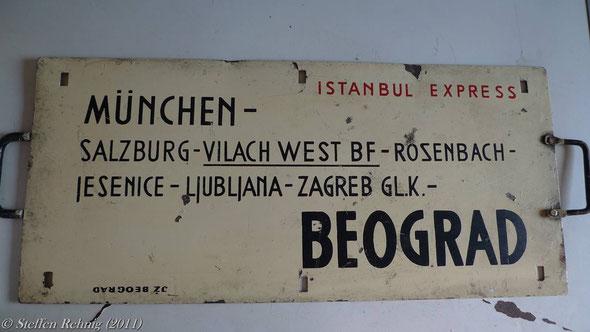 """JŽ - D 292/293 """"ISTANBUL EXPRESS"""""""